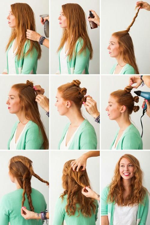 Как в домашних условиях красиво уложить волосы