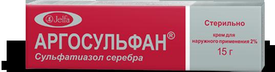 Аргосульфан с серебром - инструкция и отзывы